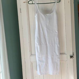 Silhouette midi coton dress